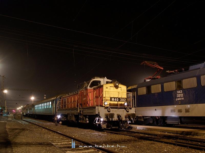 M40 302 éjjel Dombóváron fotó