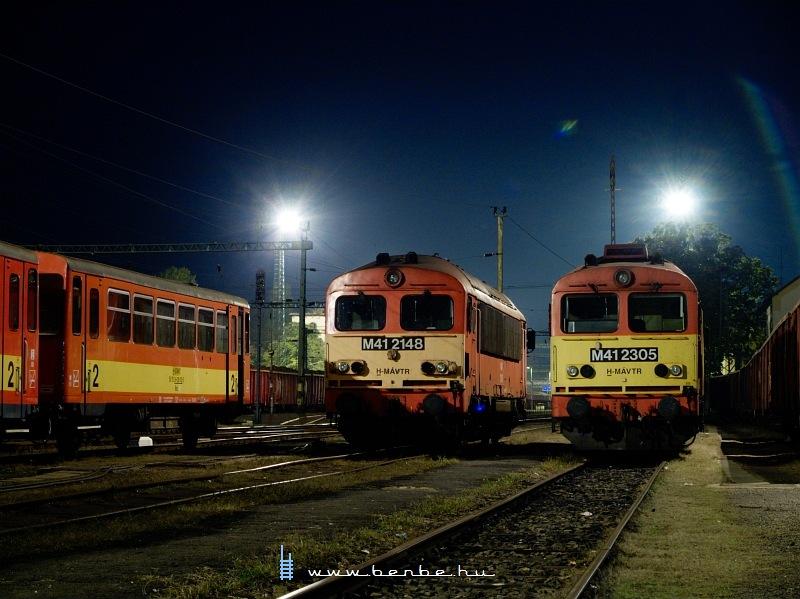 M41 2305 és 2148 Kaposváron fotó