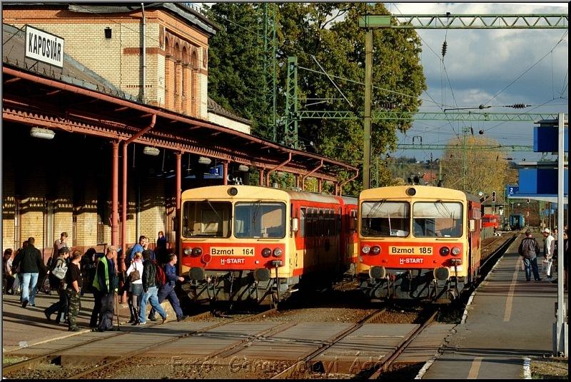 Bzmot 164 és 185 Kaposváron fotó