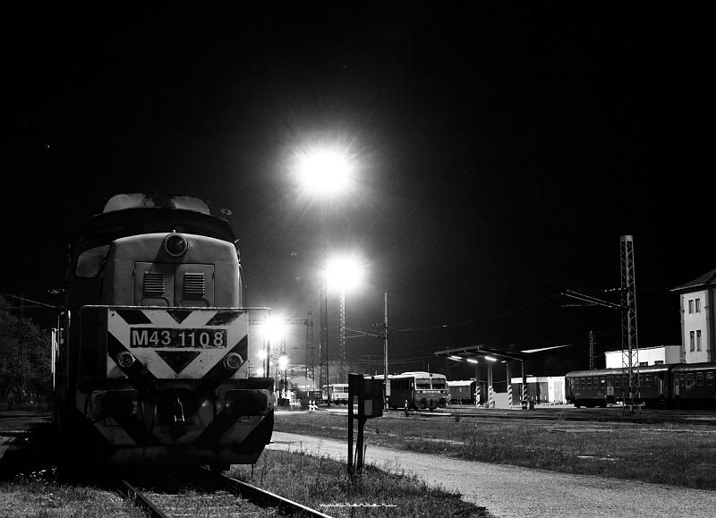 The M43 1108 at Dombóvár depot photo