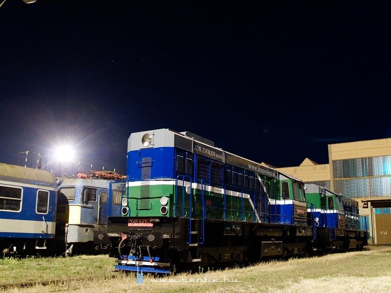 740 947-7 este Dombóvár fûtõházban fotó