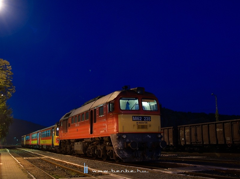 The M62 235 during the morning blue hour at Villány photo