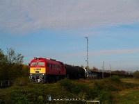 The M62 057 arriving at MAgyarb�ly from Vill�ny