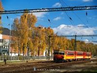 The Bzmot 161 departing from Kaposvár to go to Fonyód