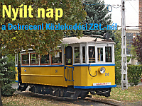 Open day at the Debrecen tram depot