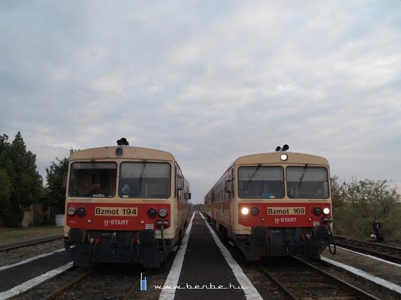 Bzmot 194 és 169 Kisszénáson fotó