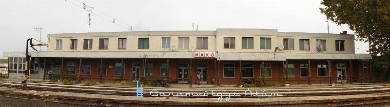 Makó állomás fotó