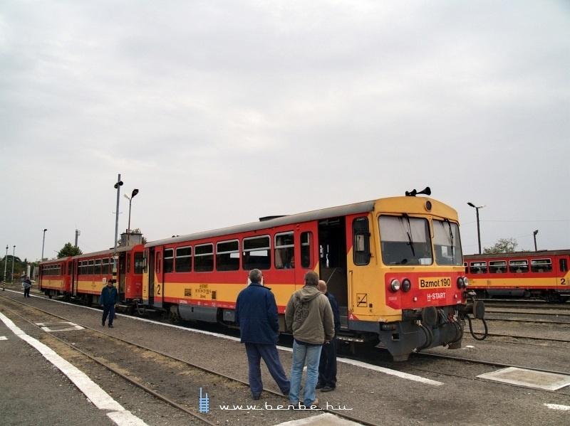 Bzmot 190 Mezõhegyesen fotó