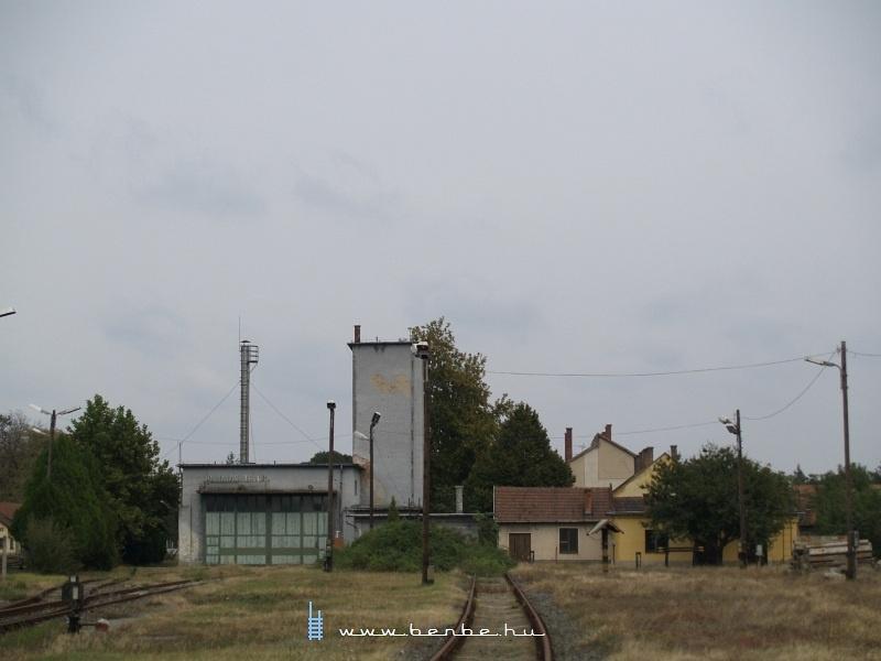 A bezárt mezõhegyesi fûtõház fotó
