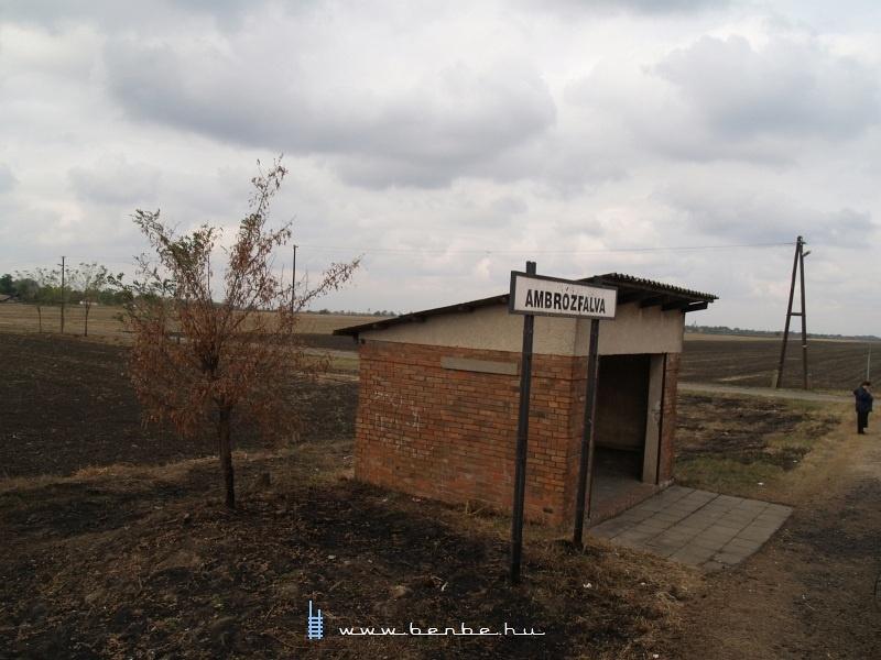 Ambrózfalva megállóhely fotó