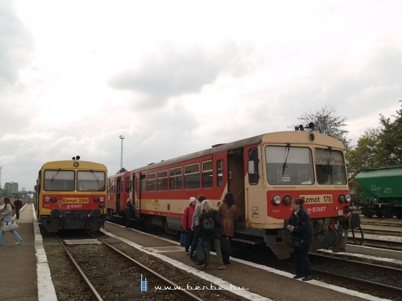Bzmot 178 és 289 Orosházán fotó
