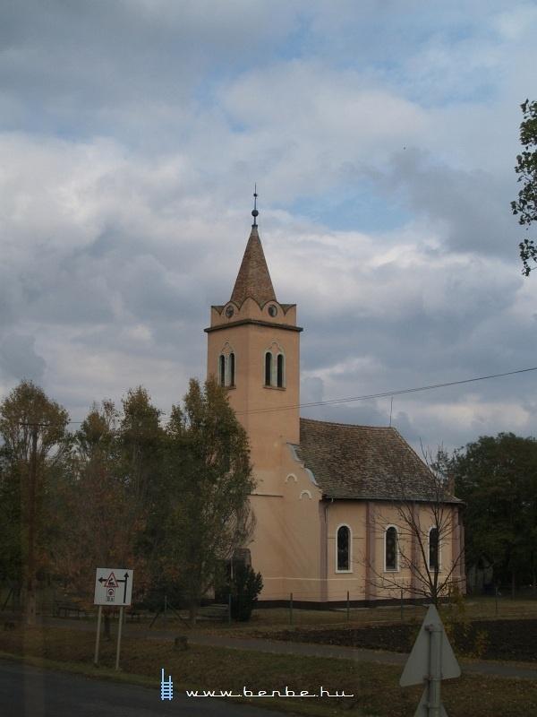Templom Nagyszénáson fotó