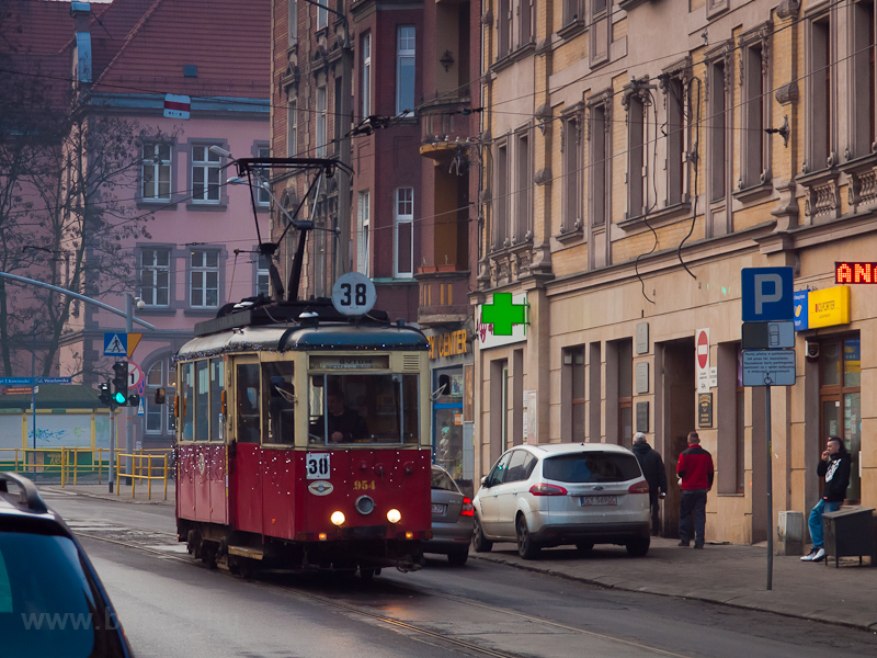 The Konstal N type tram num photo