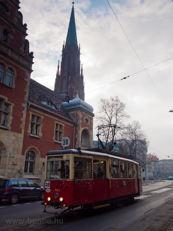 The Konstal N type tram num picture