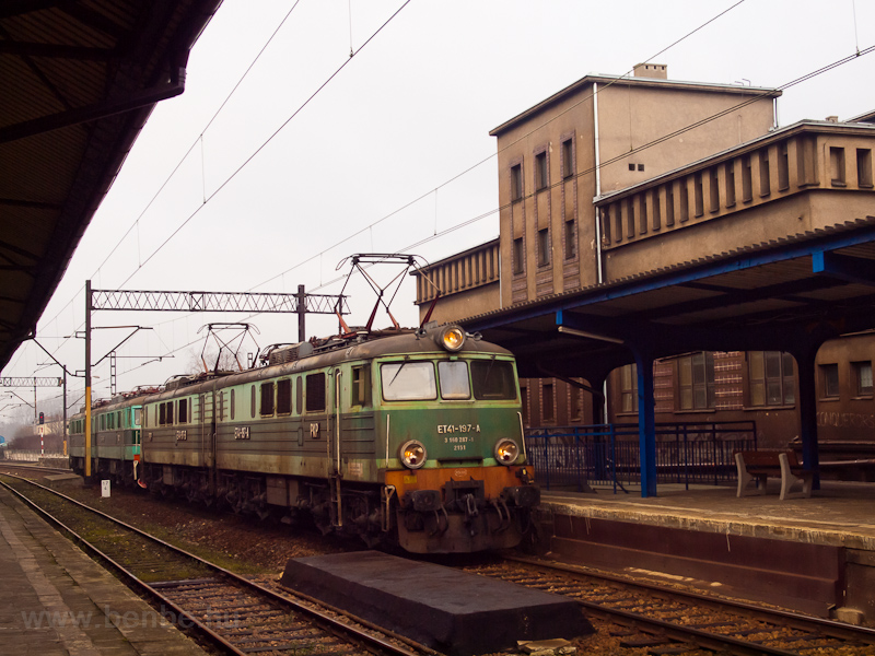 The PKP Cargo ET41 197 seen photo