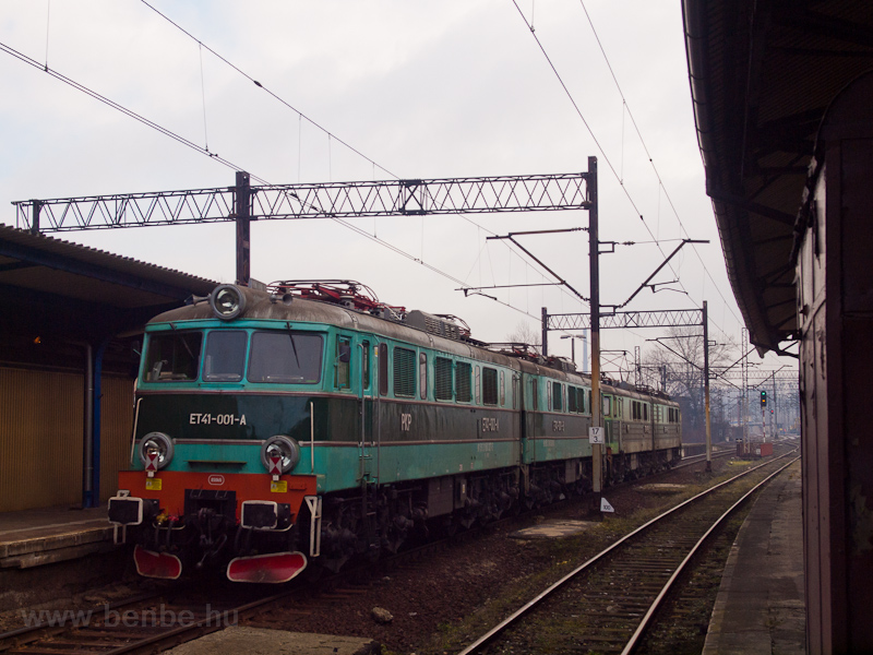 The PKP Cargo ET41 001 seen picture