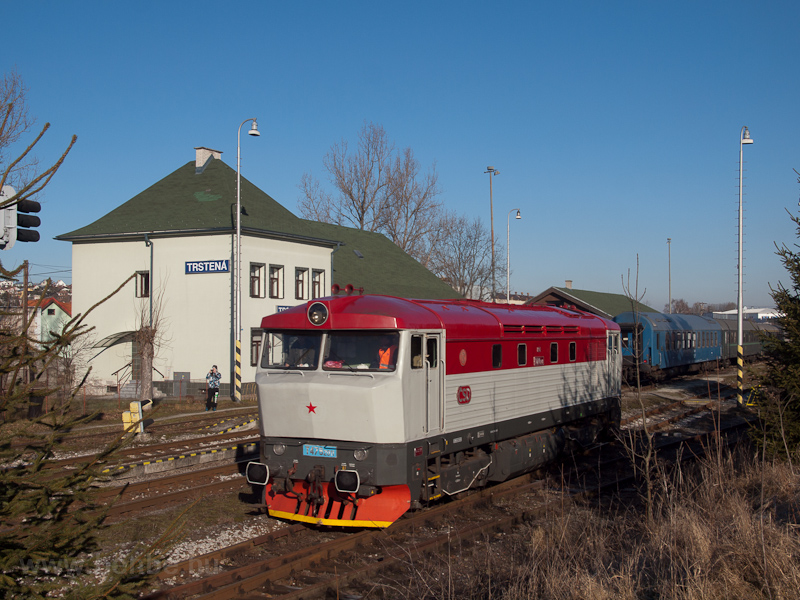The ČSD T478 2011 seen photo