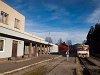 A ŽSSK 813 022-5 Turzófalva állomáson