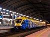 A Koleje &#346;l&#261;skie EN75 002 a <q>FLIRT</q> Katowice állomáson