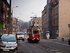 After the previous day's light came the realization of how ran-down the Silesian industrial area is: the Konstal N type tram looks the best of the many things visible in this photo taken on the route of Bytom tram number 38 at Piekarska street