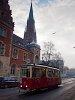 The Konstal N type tram number 954 seen at Bytom tram number 38 at Piekarska street/Bytom Kościół św. Trójcy