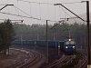 The PKP Cargo ET22 2042 seen between Jaroszowiec Olkusky and Olkusz