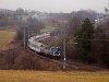 The PKP InterCity EU07 302 seen between Stryszów and Zembrzyce