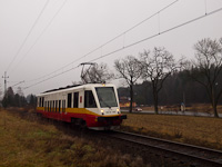 A Przewozy Regionalne EN81 2003 Kalwaria Zebrzydowska és Barwałd Górny között