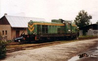A PKP SM42 677 Zakopane vasútállomáson