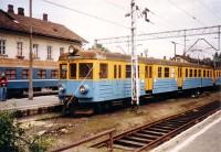 A PKP EN57 1073 Zakopane állomáson