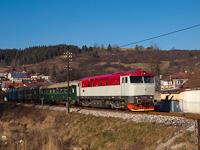 A ČSD T478 2011 Podbjel és Nizsna között
