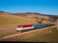 A ČSD T478 2011 Trsztená és Turdossin között
