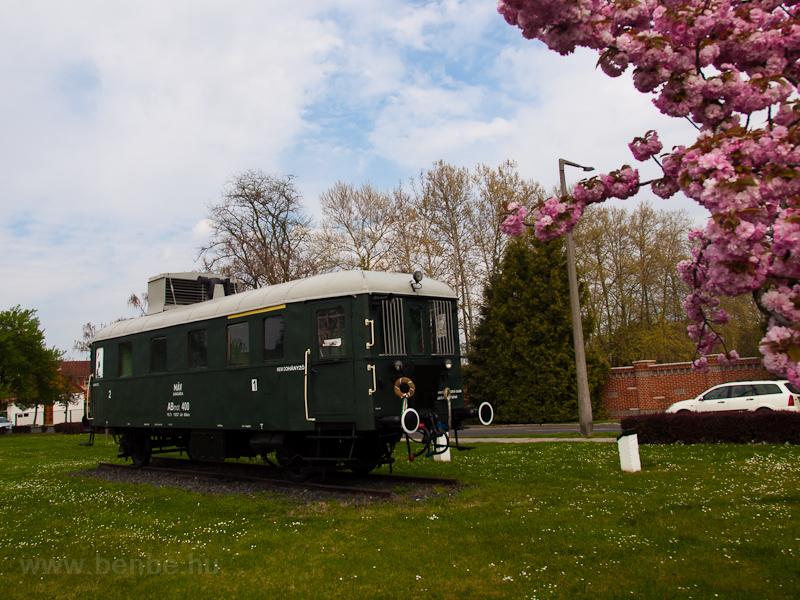 A MÁV ABmot 400 Nagyatád állomáson fotó