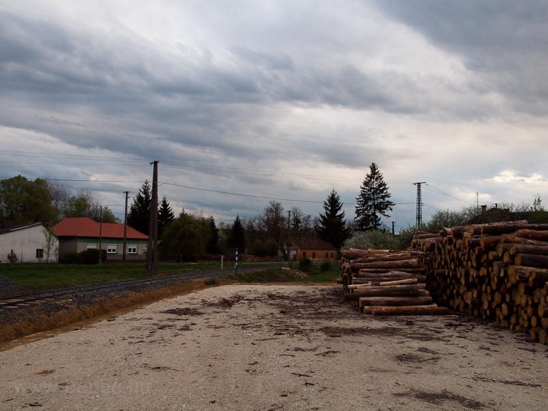 A Lenti Erdei Vasút rakodója Szilvágyon fotó