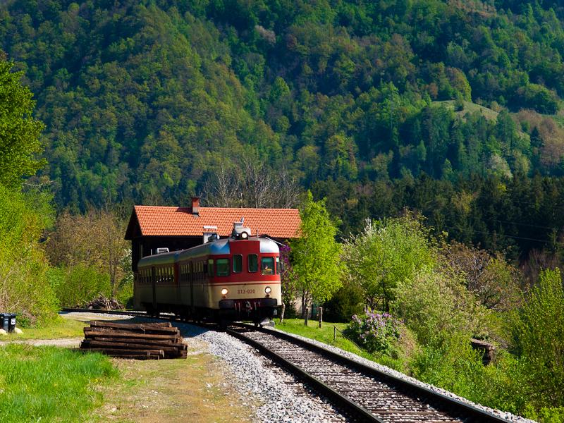 A Slovenske železnice 813 020 Fala megállóhelyen fotó