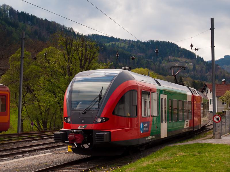 A Steiermärkische Landesbahnen 4062 003-0 Übelbach állomáson fotó