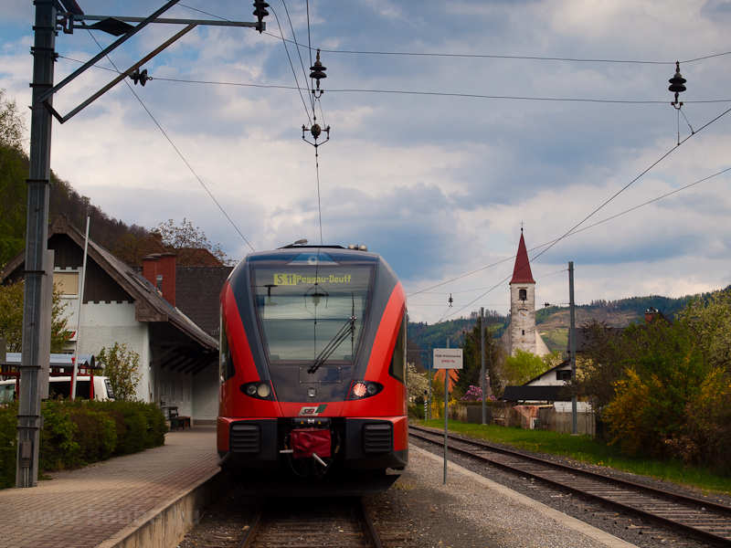A Steiermärkische Landesbahnen 4062 002-2 Übelbach állomáson fotó