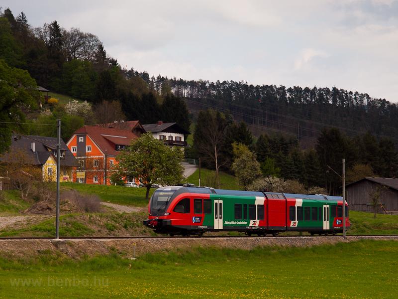 A Steiermärkische Landesbahnen 4062 002-2 Zitoll Bahnhof és Prenning Viertler között fotó