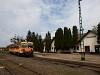 A MÁV-START 117 203 Nagyatád állomáson