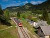 A Slovenske železnice 813 020 Trbonje megállóhelyen