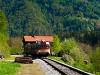 A Slovenske železnice 813 020 Fala megállóhelyen