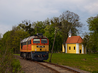 The MÁV-START 628 310 seen between Segesd and Alsósegesd