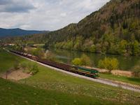 A Slovenske železnice 664 102 Vuhred és Vuhred elektarna között