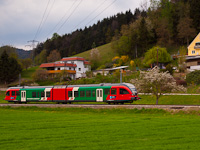 The Steiermärkische Landesbahnen 4062 002-2 seen between Prenning Bahnhof and Prenning Viertler