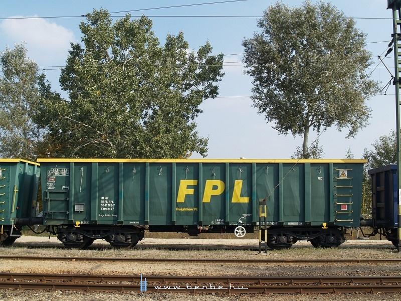 FPL Eamnoss kocsi oldalfala a vasútmodellezők kedvéért fotó