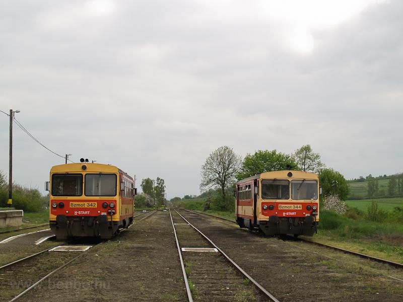 A Bzmot 342 és 344 Ipolytar fotó