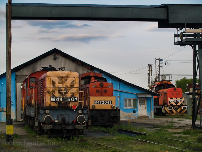M44 501, M47 2041 és a nem sokkal később Hatvanba száműzött M43 1155-ös Kisdák fotó