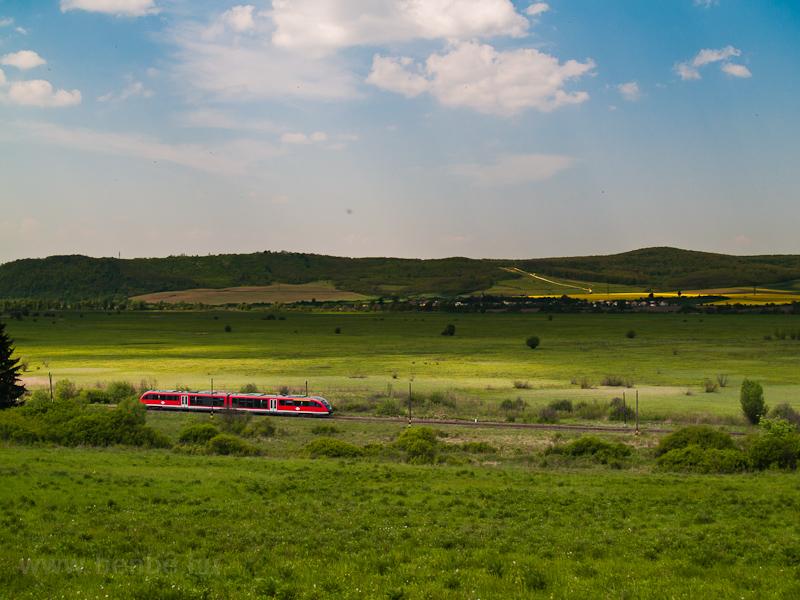 A 6342 011-1 pályaszámú Desiro motorvonat Litkén fotó