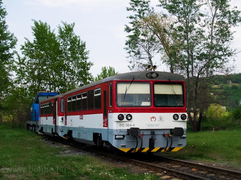 A ŽSSK 812 064-4 Fülek fotó