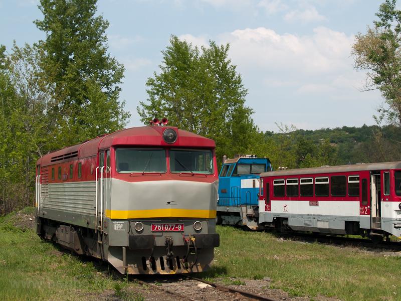 A ŽSSKC 751 077-9 Füleken (Fil'akovo, Slovakia) fotó